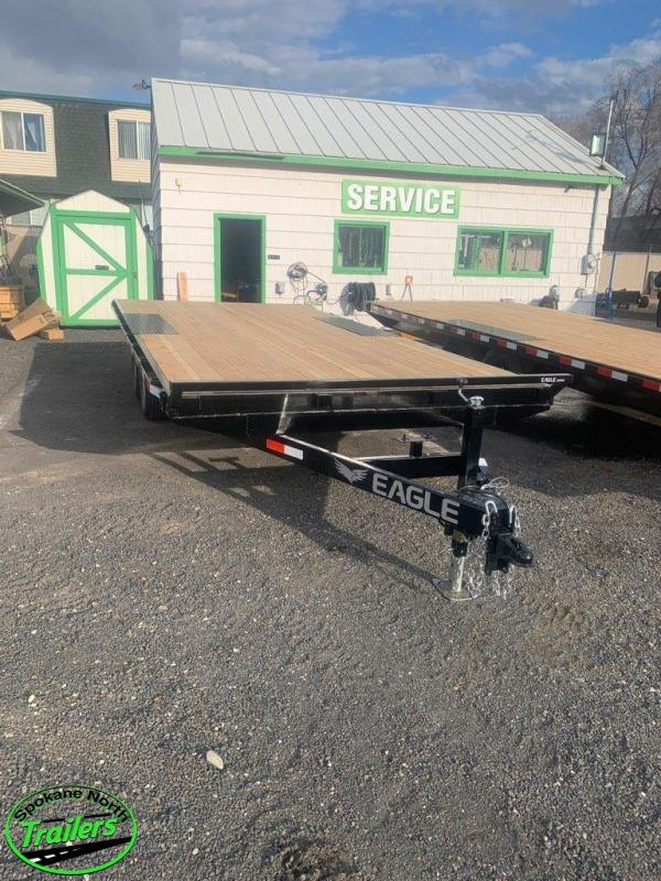 2020 Eagle Trailer 8.5x18 Eagle 10K Equipment Deckover