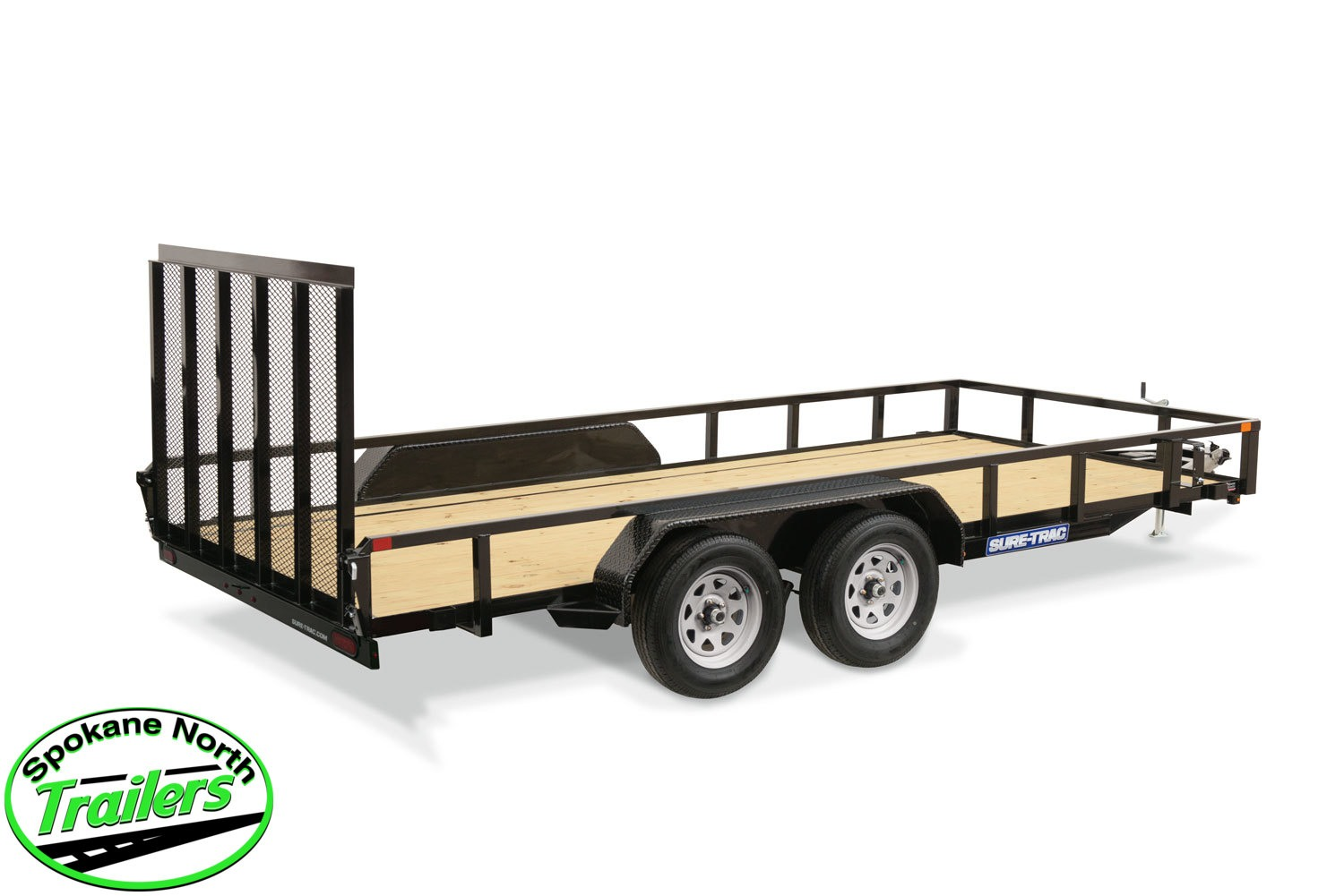 2021 Sure-Trac 7x16 Tube Top Utility Trailer 7K