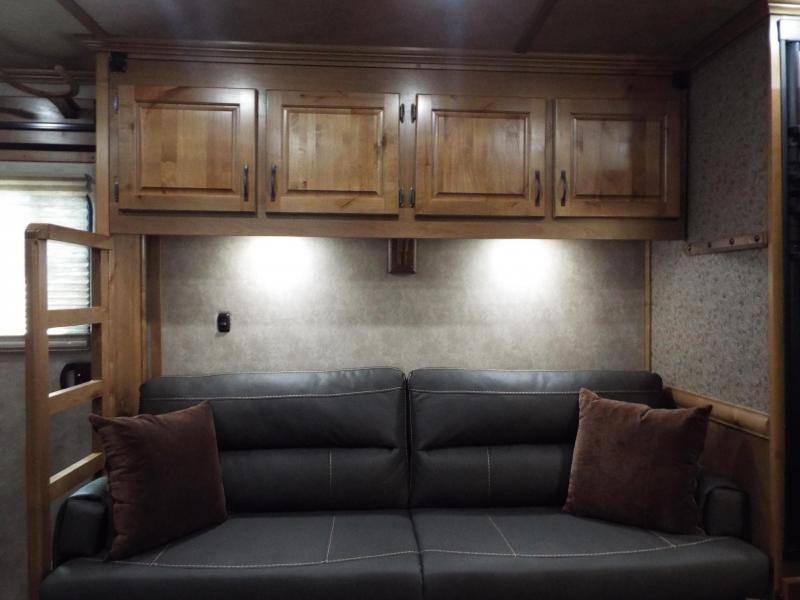 2020 Trails West 15' SW 4 Horse Trailer Side Load-Hay Pod-Slide-Fold Down Bunk-CHECK OUT THIS TACK ROOM! - PRICE REDUCED $4000!