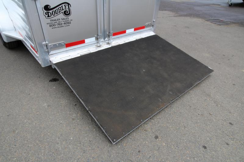 2019 Exiss 7410 - 4 Horse Trailer - 10' Short Wall Living Quarters - On Board Onan Generator-Fold Down Bunk - Hay Rack - Ramp - Easy Care Flooring - Folding Rear Tack