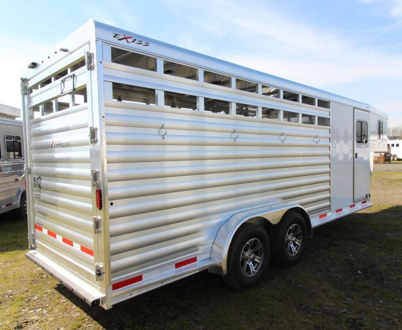 2021 Exiss EXPRESS 4 HORSE TRAILER GN- EASY CARE FLOORING