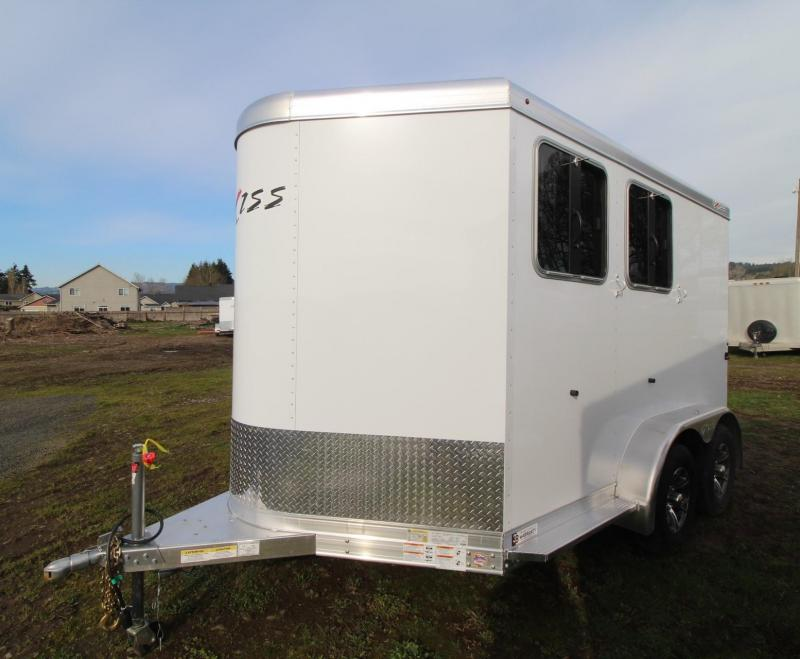 2021 Exiss EXPRESS 2 HORSE TRAILER BP- EASY CARE FLOORING