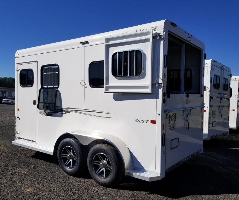 2022 Trails West Royale SxST Warmblood 2 Horse Straight Load Trailer