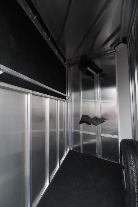 "2021 FRONTIER COLT SERIES 2 HORSE ALUMINUM HORSE TRAILER - 7'6"" TALL"