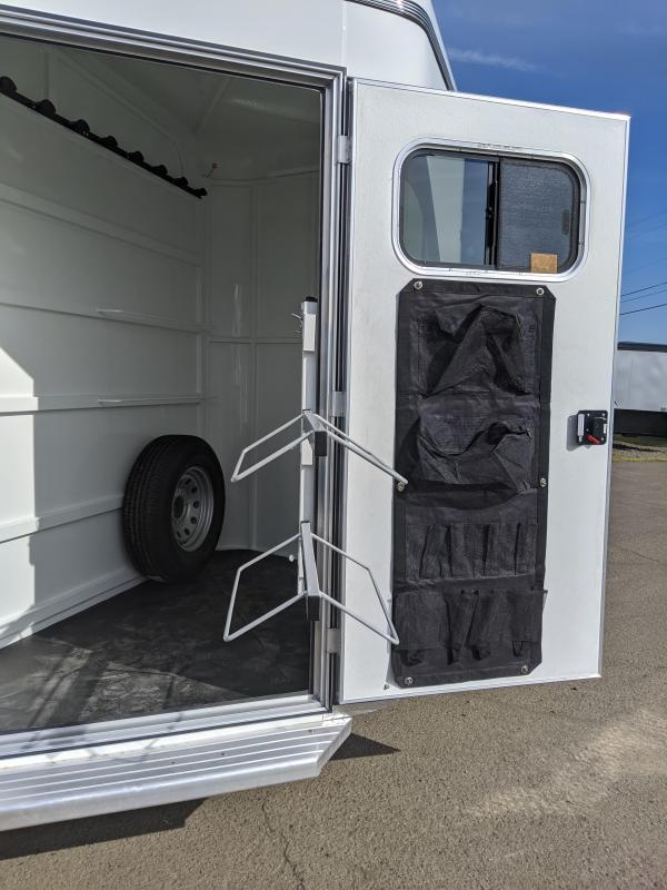 2020 ThuroBilt Liberty 3 Horse Trailer - Warmblood Stalls  - Spare Tire & Mount