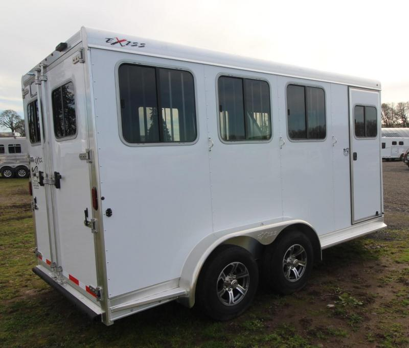 2021 Exiss EXPRESS 3 HORSE TRAILER BP- EASY CARE FLOORING