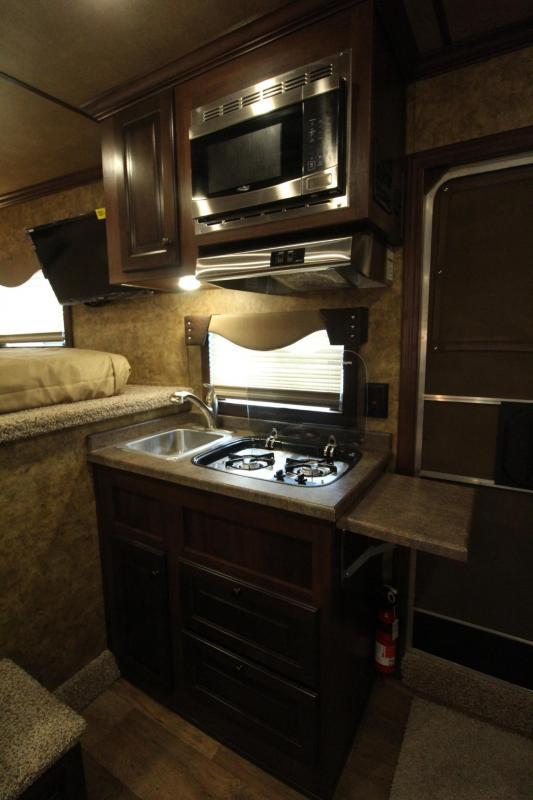 2019 Exiss Endeavor 8410 - 10' Short Wall Living Quarters 4 Horse Trailer Slide-out - Easy Care Flooring Lined And Insulated Tons of Upgrades! PRICE REDUCED $4090