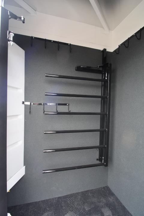 2021 Trails West 12'SW-7'Wide-4 Horse-SIDE TACK-Slide Out-Escape Door-Stud Wall