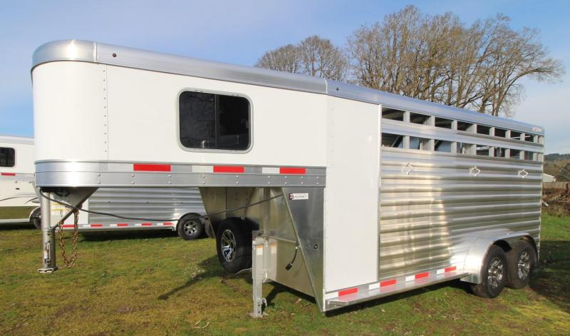 2021 Exiss Trailers EXPRESS 3 HORSE TRAILER GN - EASY CARE FLOORING