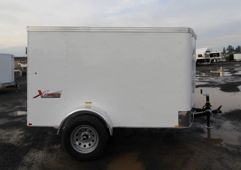 2020 Mirage Trailers 5x8 SA w/ Rear Door Enclosed Cargo Trailer