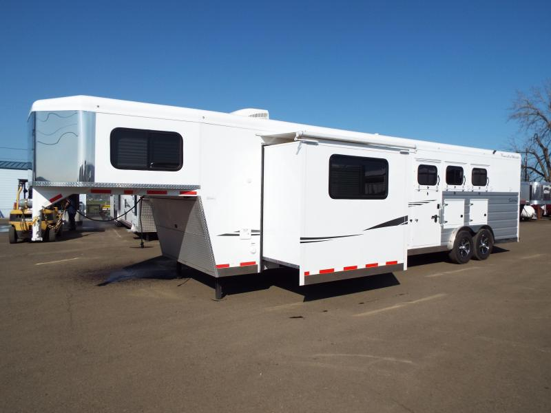 2019 Trails West Sierra 3 Horse Trailer - 13' x 13' LQ w/ Slide PRICE REDUCED $1600