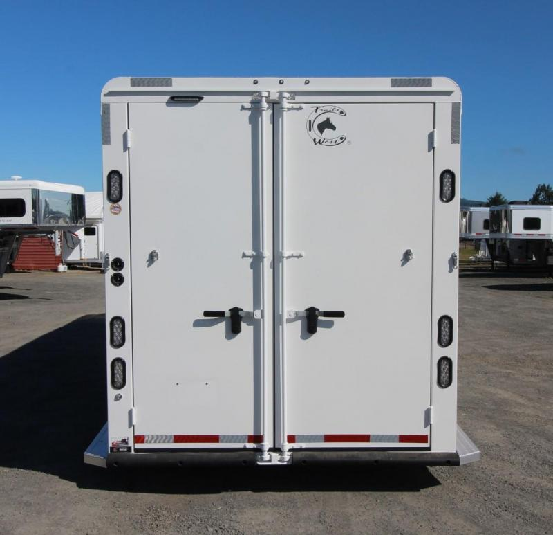 "2021 Trails West Classic - Side Tack - Comfort Package - 7'6"" Tall Horse Trailer"