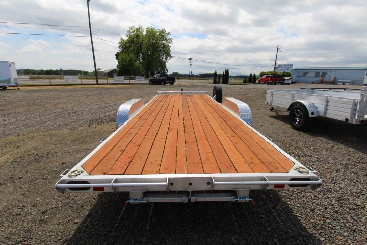 2021 Eagle 7X20 Flatbed- Pressure treated wood decking - Spare tire and mount