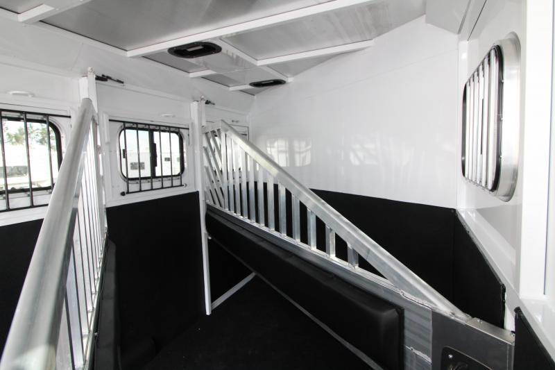 "NEW 2019 Trails West Classic 3 Horse Trailer - Upgraded with Escape Door - Added Height 7'6"" Tall PRICE REDUCED $1000"