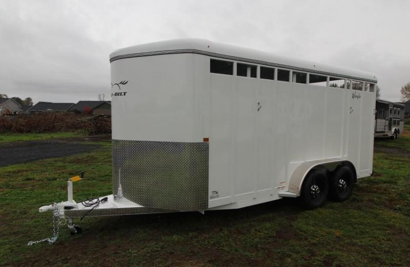 2021 Thuro-Bilt WRANGLER 3 HORSE TRAILER- ADDED 1' OF LENGTH - DIVIDER CATCH