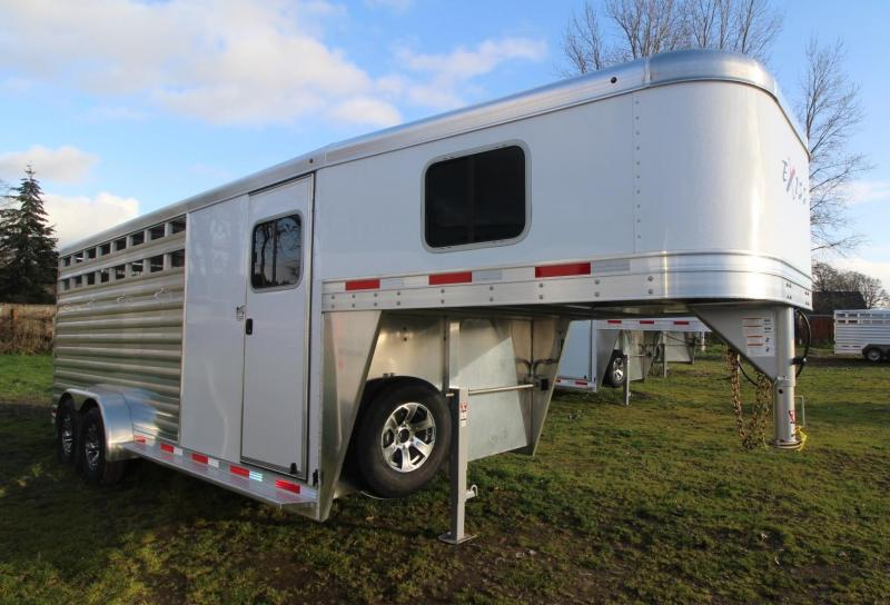 2021 Exiss EXPRESS 4 HORSE TRAILER GN- EASY CARE FLOORING