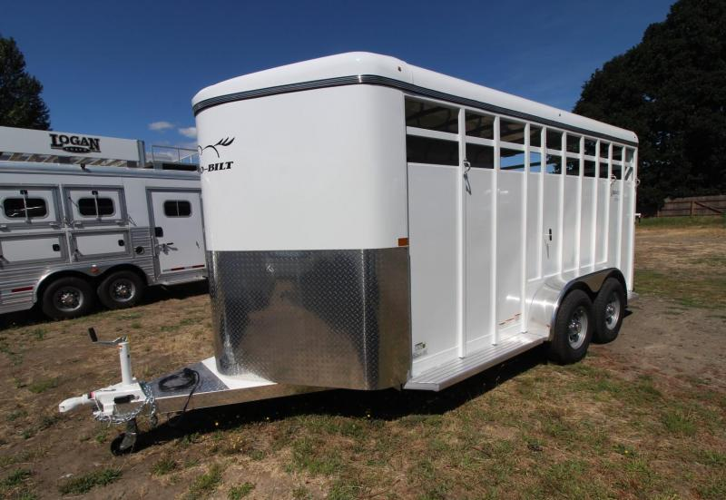 2021 Thuro-Bilt WRANGLER STOCK LIVESTOCK TRAILER - SINGLE WALL CONSTRUCTION