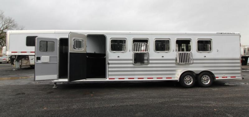 "2020 Featherlite 8541 - 6 Horse 7'6"" Tall w/ Large Tack Room Aluminum Trailer PRICE REDUCED $1000"