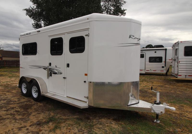 2021 Trails West ROYALE PLUS - 2 HORSE TRAILER - CONVENIENCE PKG Horse Trailer