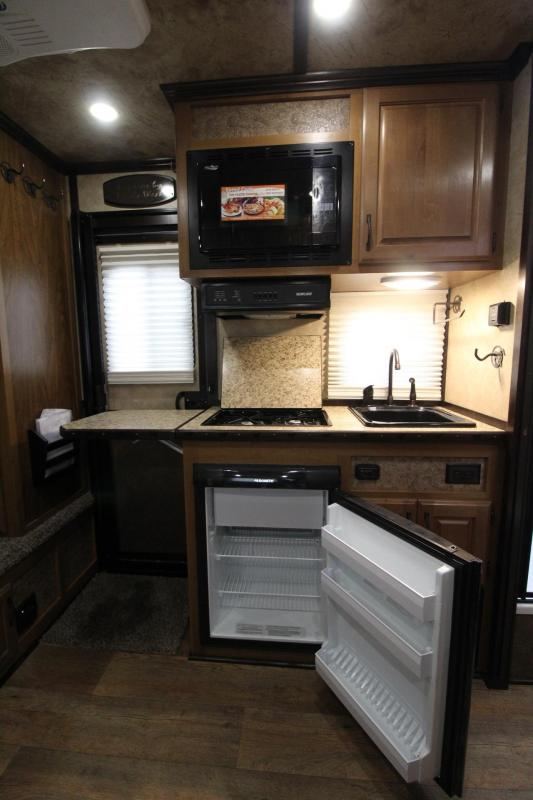 2018 Trails West Sierra 8x13 LQ w/ Slide out Dinette - Lined and insulated horse area - 3 Horse Trailer - Hoof Grip Flooring - Aluminum Skin Steel Frame