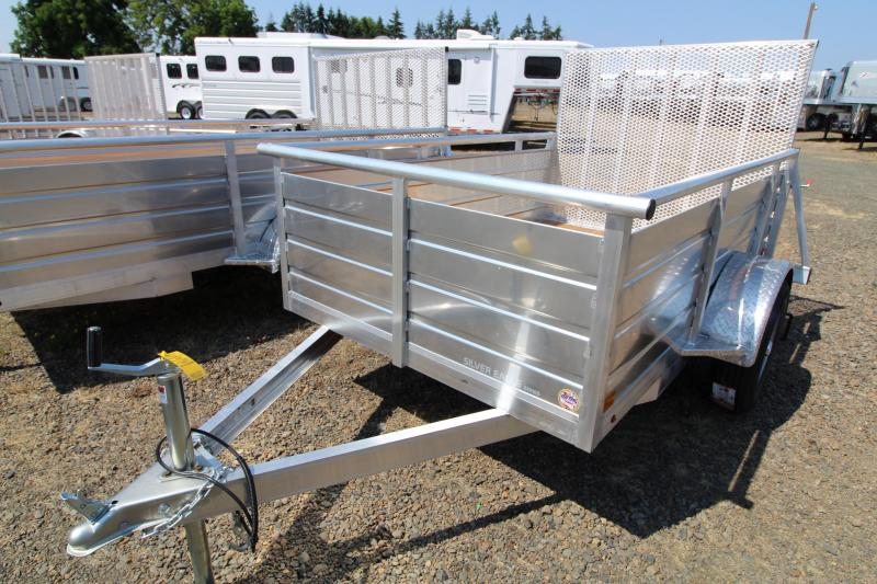 2020 Eagle 5' x 8' Ultralite Utility Trailer - Pressure Treated Decking - Aluminum Construction - Single Axle