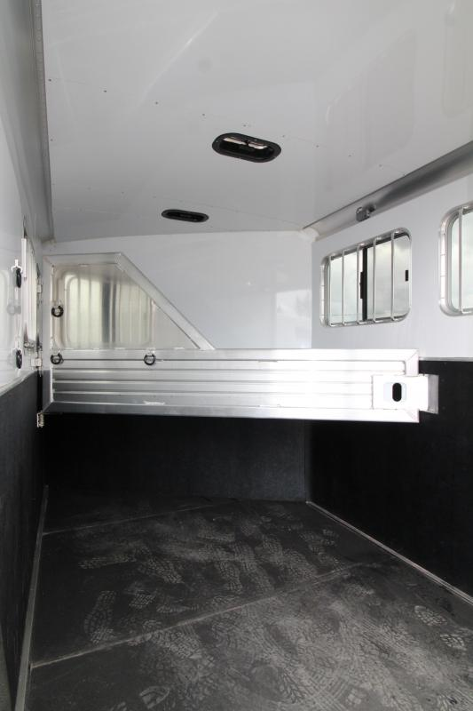 "2020 Featherlite 9551 - 2 Horse All Aluminum Trailer - 7'6"" Tall - Swing Out Saddle Rack - Drop Down Windows - Spare Tire - PRICE REDUCED $1300"
