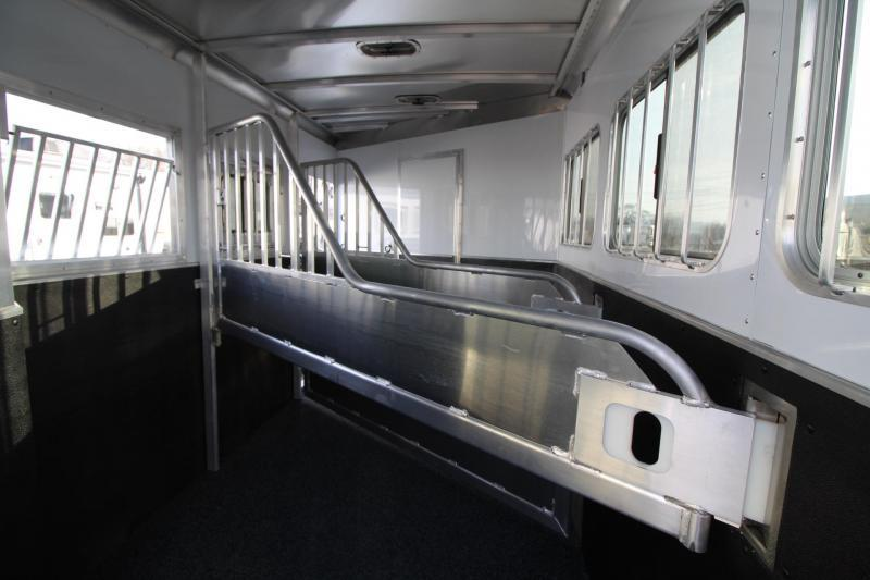 2020 Featherlite 7841 Liberty Legend 8' SW Living Quarters 7' Wide 3 Horse Trailer Jail Bar Dividers PRICE REDUCED $1100