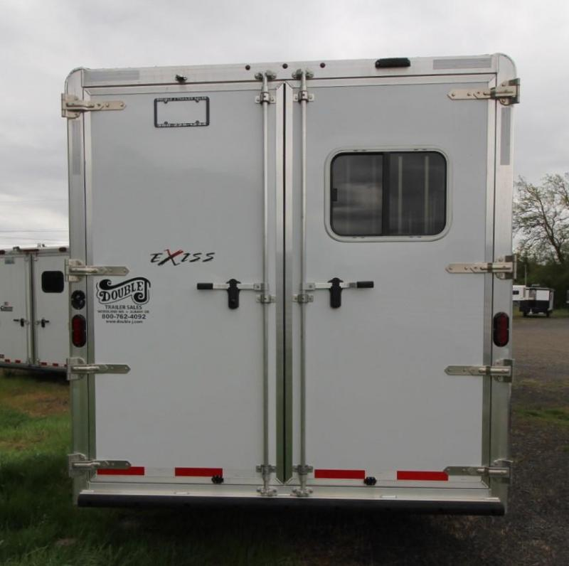2021 Exiss Trailers ENDEAVOR 8310 - EASY CARE FLOORING - STUD DIVIDER Horse Trailer
