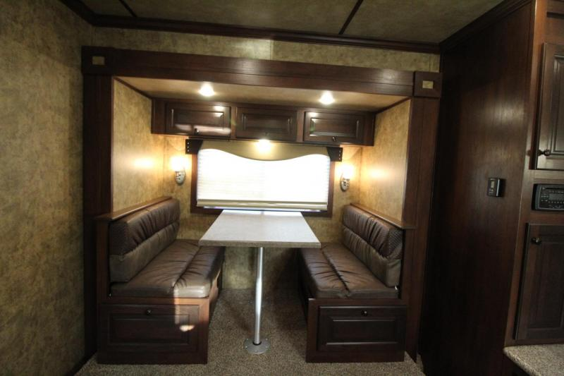 2020 Exiss Trailers 8310 - 10ft Sw Living Quarters w/ Slide out - 3 Horse Trailer