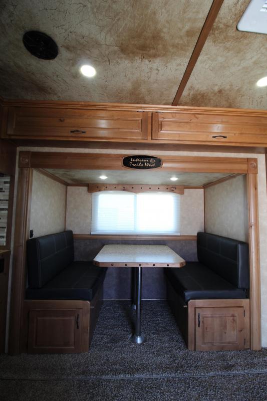 2019 Trails West Side Load w/ Full Rear Tack -15' SW LQ w/ Slide - Bunk Beds - Hay Pod - Gen Prepped PRICE REDUCED $1400