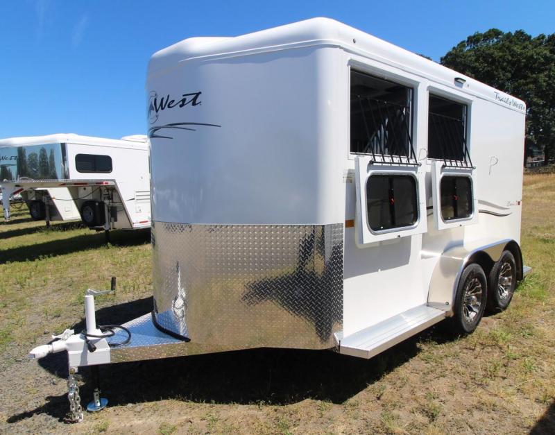 2022 Trails West Classic BP 2 Horse Trailer