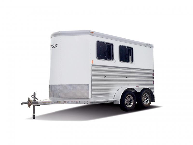 2022 Exiss Trailers Exiss Express SS - 2 Horse Trailer- EASY CARE FLOORING - LOAD LIGHTS