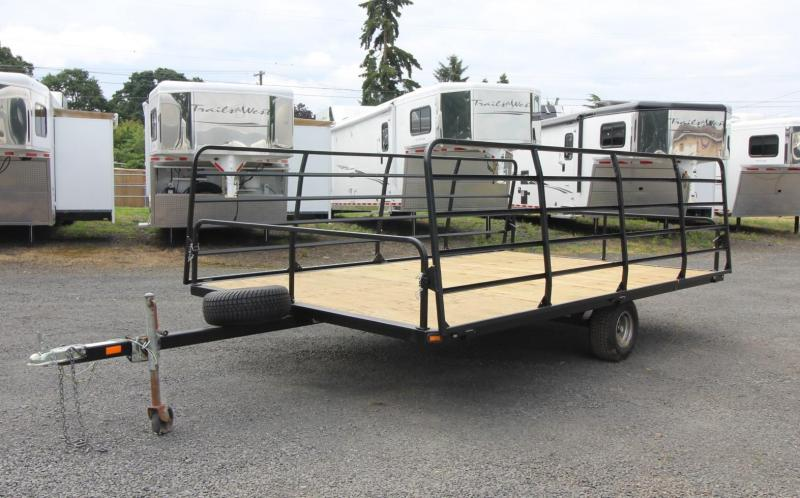 2007 Carnai - 13ft ATV Trailer - Fold down ramps each side