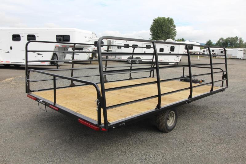 2007 Carnai - 13ft ATV Trailer - Fold down ramps each side