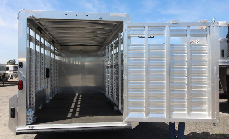 2020 Exiss STC 7020 - 20ft Stock Combo Trailer w/ Tack Room - All Aluminum - Escape Door REDUCED 900
