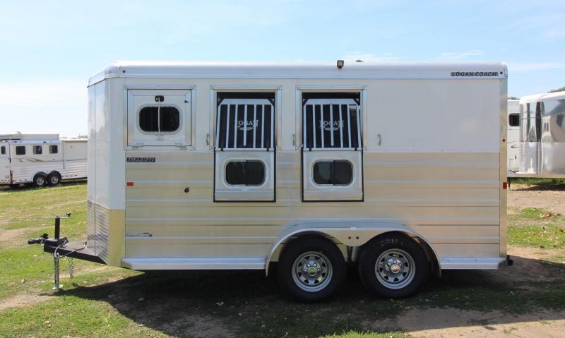 2020 Logan Coach BULLSEYE 3 HORSE BUMPER PULL TRAILER Horse Trailer