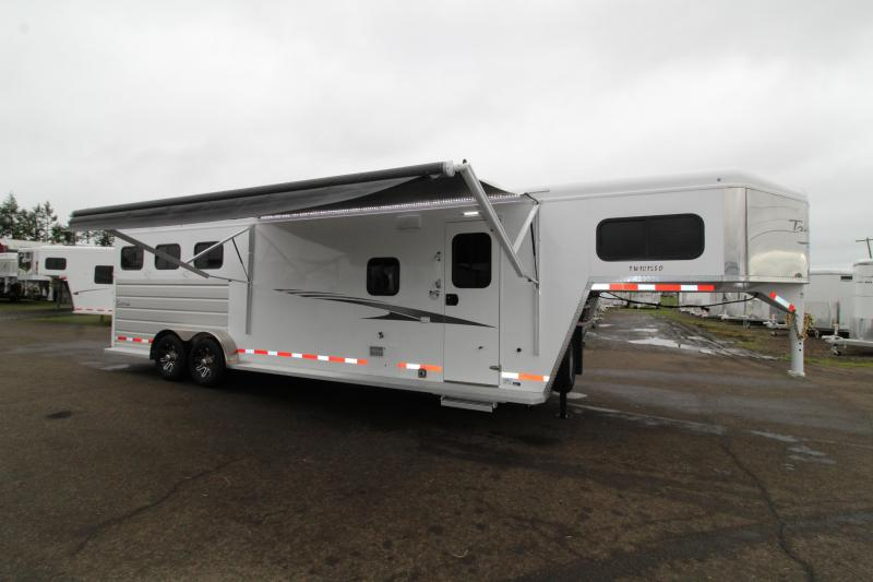 2020 Trails West 3 Horse Trailer - 10' x 15' LQ w/ Slide - PRICE REDUCED $1300!