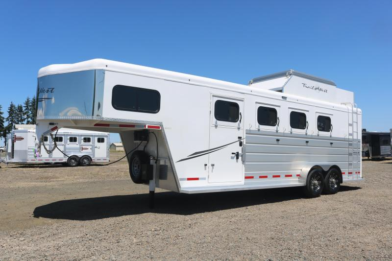 2021 Trails West Manufacturing 4 Horse GN Horse Trailer