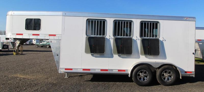 2021 Exiss EXPRESS 3 HORSE TRAILER GN - EASY CARE FLOORING