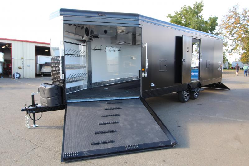 2021 Trails West Manufacturing RPM 28' Snowmobile Trailer