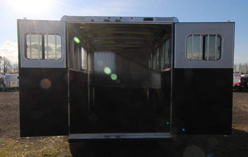 2021 Exiss EXPRESS 3 HORSE TRAILER GN- EASY CARE FLOORING