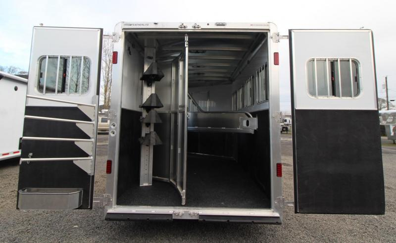 2020 Featherlite 7841 Legend - 7' Wide 10' Short Wall Living Quarters 4 Horse Aluminum Trailer REDUCED $500