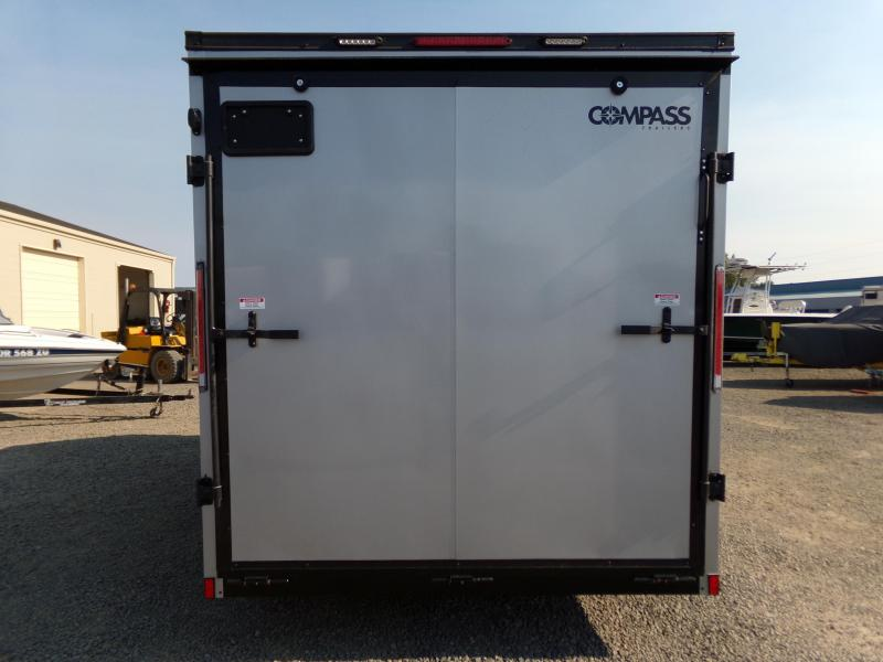 2022 Compass 7 x 14 Jasper Enclosed Cargo Trailer