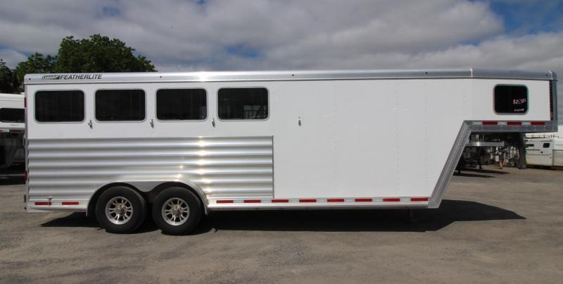 2020 Featherlite 7541 - Aluminum 4 Horse Trailer - LARGE Dressing Room - Rear Tack PRICE REDUCED $1400