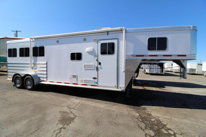 "2016 Featherlite Horse Trailer 7'8"" SW. Excellent Condition. Upgraded interior."