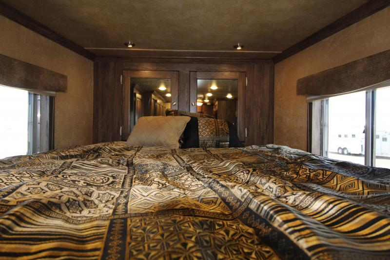 "2016 Featherlite Horse Trailer 7'8"" SW. Excellent Condition. Upgraded interior."