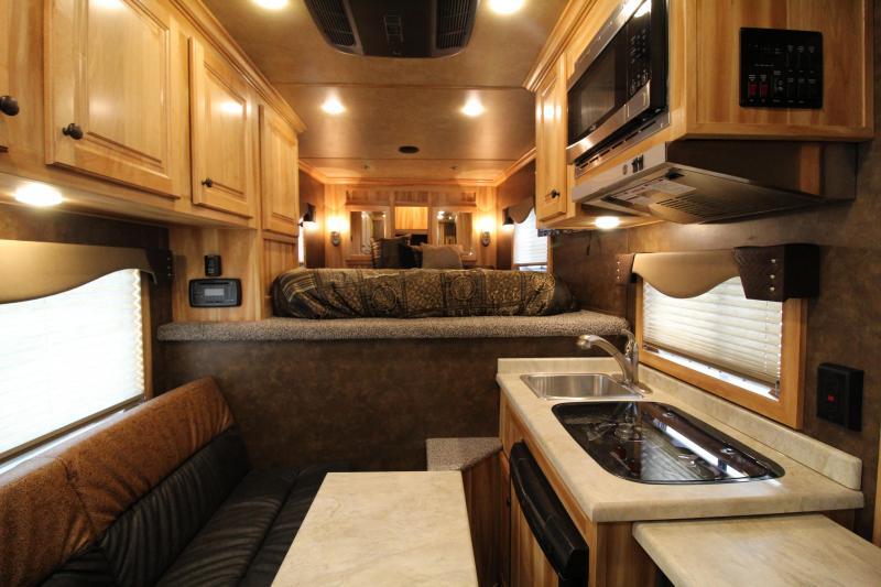 2021 Exiss 7306 LQ Horse Trailer Easy care flooring All aluminum construction