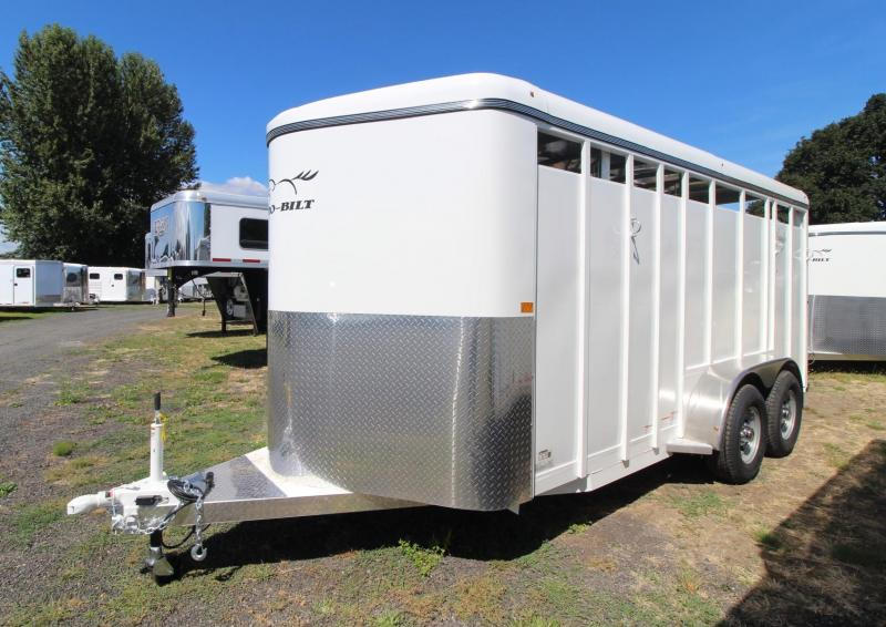 2021 Thuro-Bilt WRANGLER 3 HORSE TRAILER- SINGLE WALL CONSTRUCTION - DIVIDER CATCH