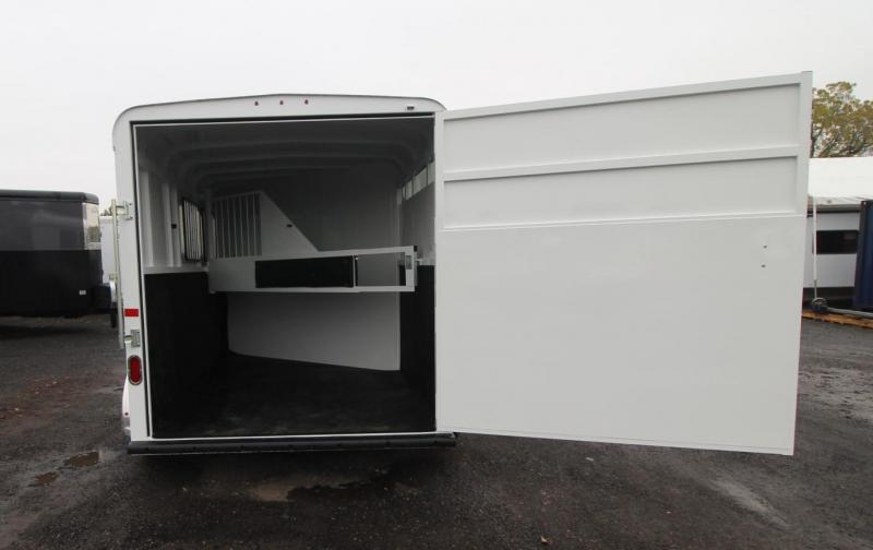 2021 Thuro-Bilt SHILO 2 Horse Trailer - DROP DOWN WINDOWS