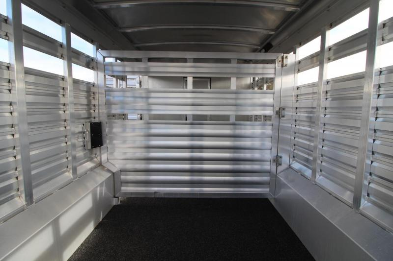 2019 Exiss STC 8032 Stock Combo 10' Short Wall Living Quarters Trailer * Mid Tack w/ Ramp - Easy Care Flooring - All Aluminum Construction PRICE REDUCED $2195